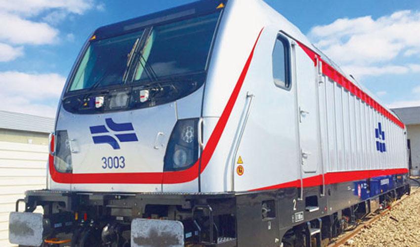 הקטר שיוביל את הרכבת (צילום: באדיבות רכבת ישראל)