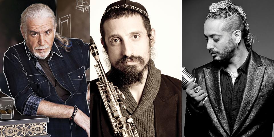 70 שנות מוזיקה ישראלית בבית אבי חי (צילום : עידו איזק, זוהר רון, אלכס ליפקין)