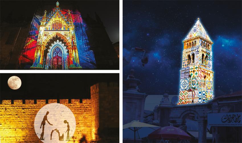 השבוע: פסטיבל האור הבינלאומי בעיר העתיקה יוצא לדרך