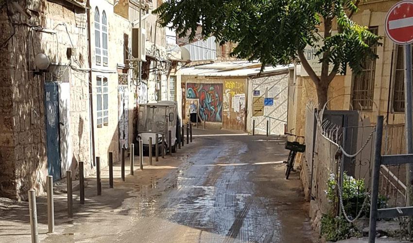 רחוב שילה (צילום: מינהל קהילתי לב העיר)