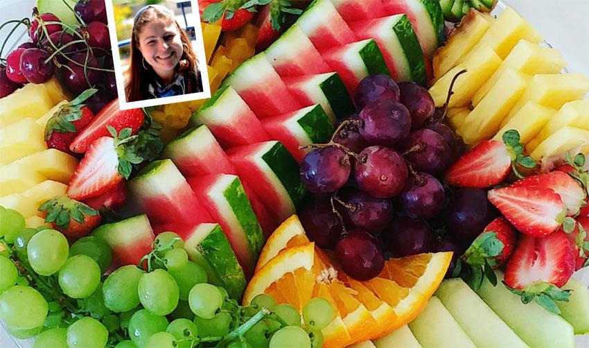 פירות חתוכים, מיכל פישמן-רואה (צילומים: בתאל פריאשטט פרוט נינג'ה, יולי שוורץ)