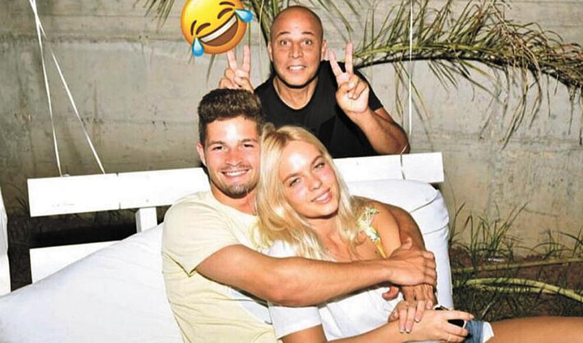 אהוד כחילה, שרון אייזנברג ודוד קלטינס (צילום: אינסטגרם)