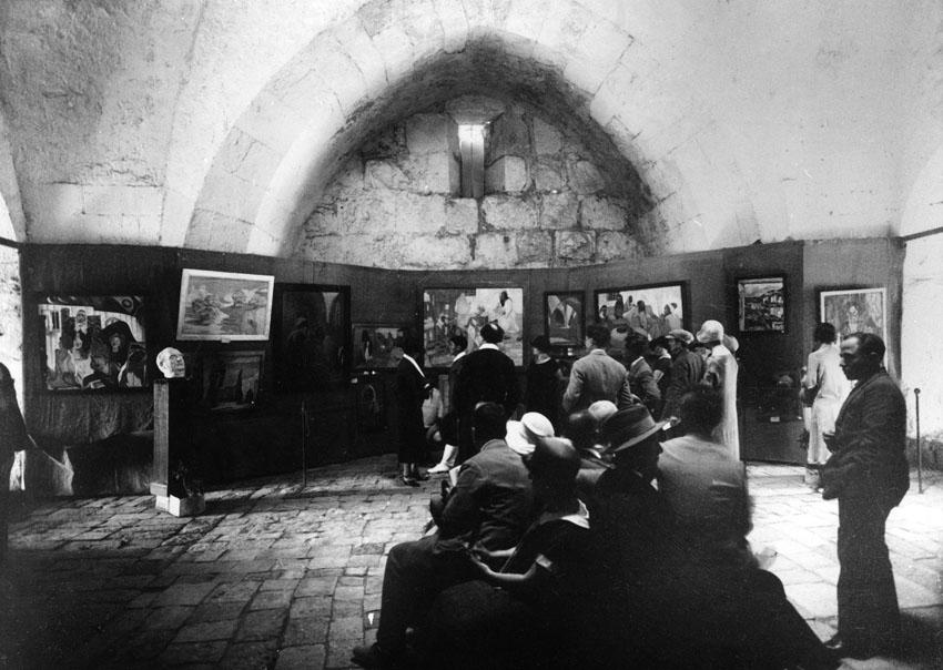 """מתוך התערוכה """"לונדון בירושלים (צילום: יוסף שוויג)"""