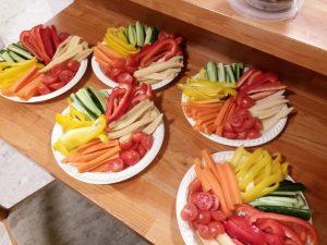 ירקות חתוכים (צילום: בתאל פריאשטט פרוט נינג'ה)