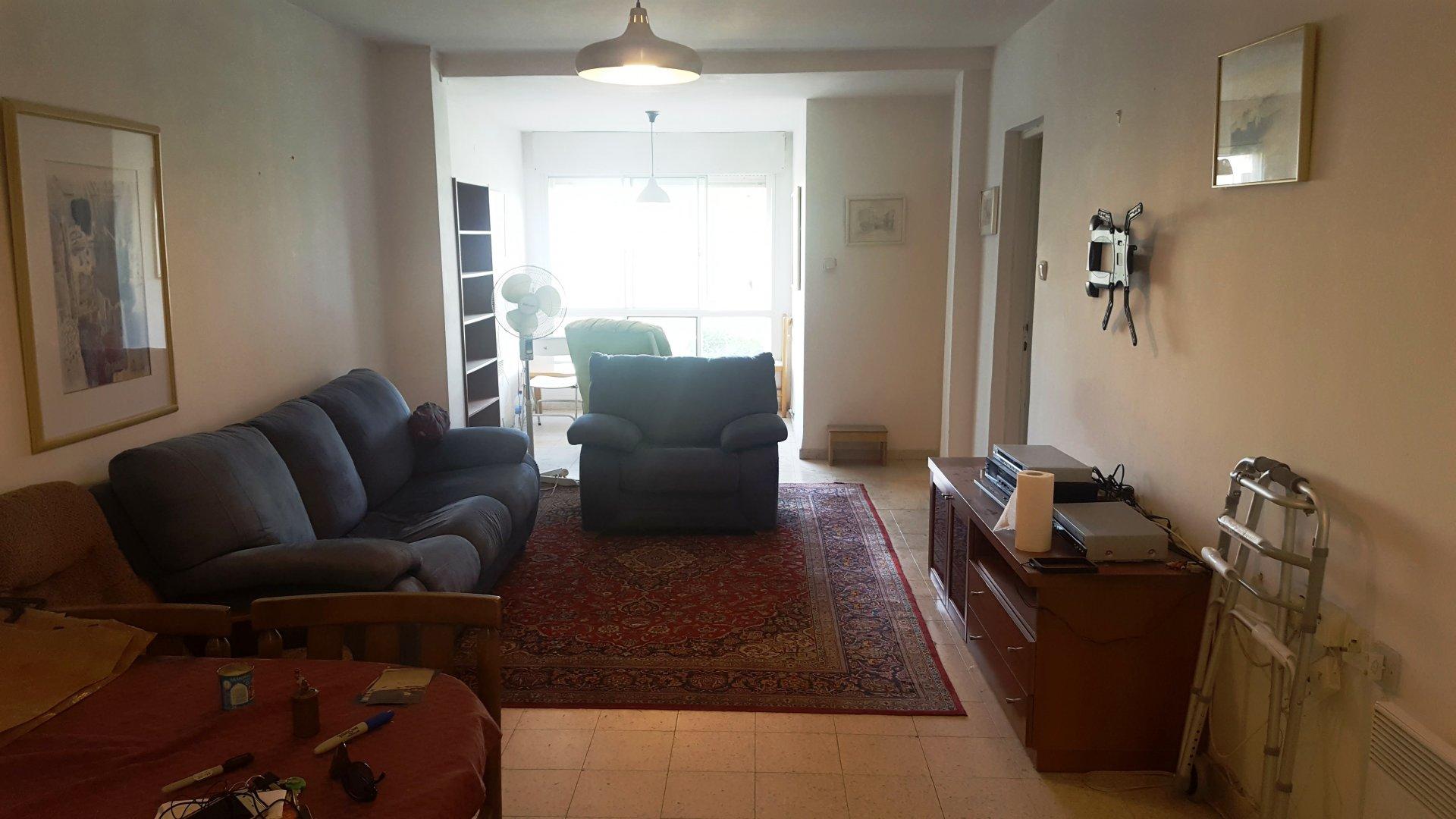 הדירה ברחוב ניקרגואה, קרית מנחם (צילום: נהוראי אבגי)