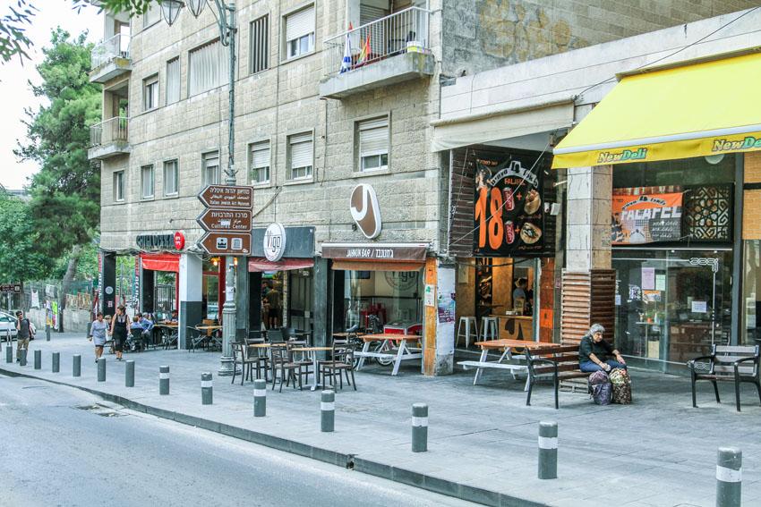 רחוב הלל (צילום: אסף קרלה)