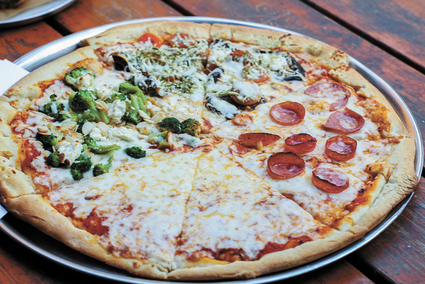 פיצה צ'ילי (צילום: אסף קרלה)
