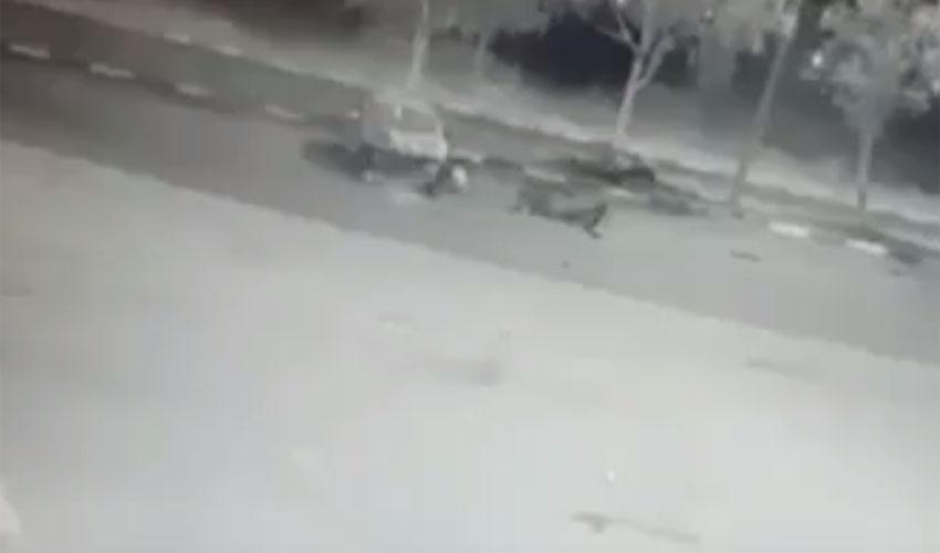 גנב רכב בקרית מנחם (צילום: דוברות המשטרה)