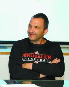 אייל חומסקי, שותף מנהל של הפועל ירושלים (צילום: שרון בוקוב)
