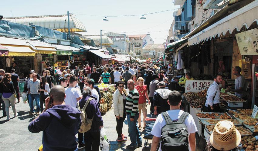 שוק מחנה יהודה (צילום: אסף קרלה)