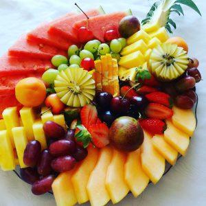 פירות חתוכים (צילום: בתאל פריאשטט פרוט נינג'ה)