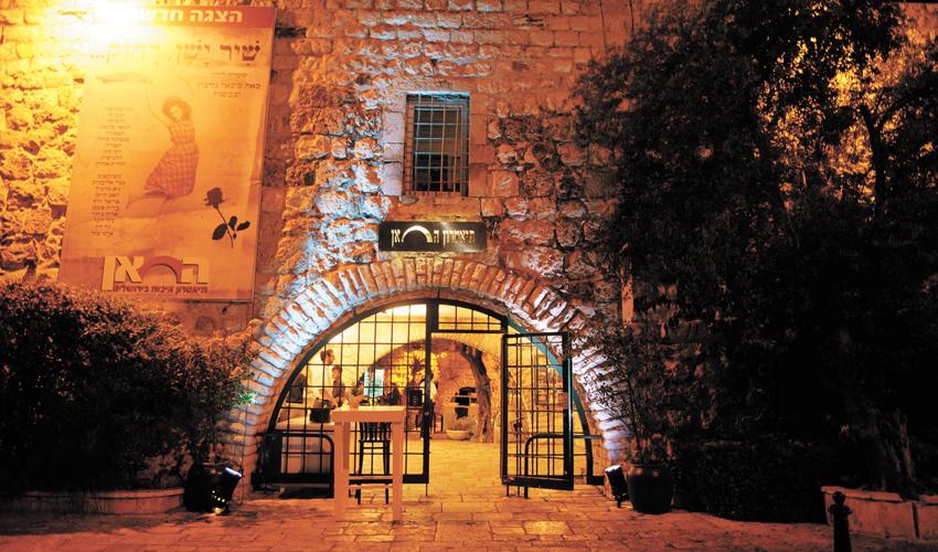 מבנה תיאטרון החאן (צילום: לאון בלנקליידר)