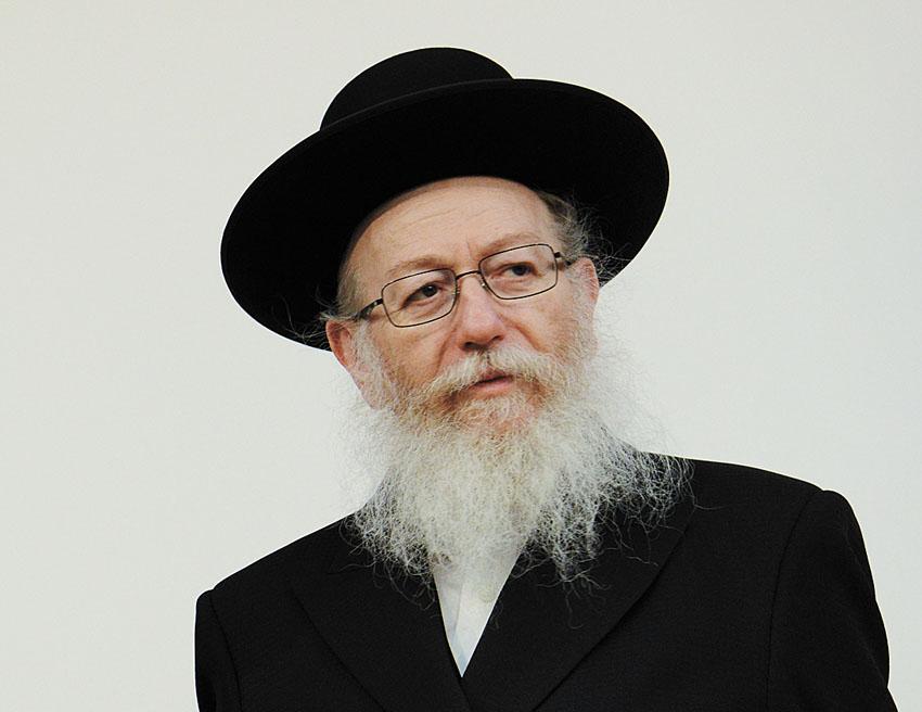 יעקב ליצמן (צילום: גיל אליהו)
