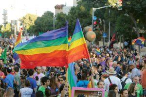 מצעד הגאווה בירושלים בשנה שעברה (צילום: אורן בן חקון)
