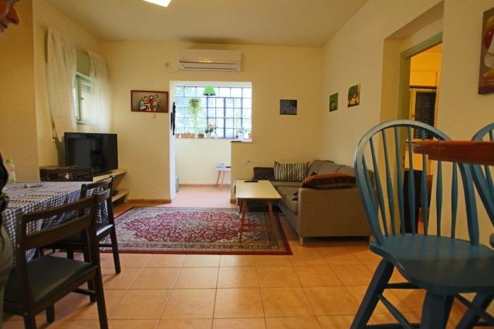 הדירה ברחוב מבוא יורם, קטמון הישנה (צילום דניאל בוזגלו)