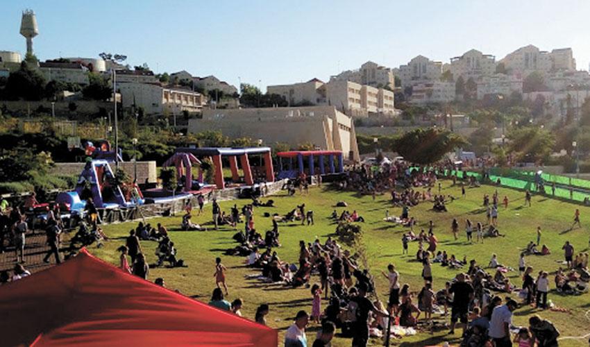 שבוע הנוער במעלה אדומים בשנה שעברה (צילום: עיריית מעלה אדומים)