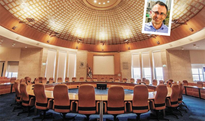 מועצת העירייה, יוסי סעידוב (צילומים: טל הרדה, שי חמד)