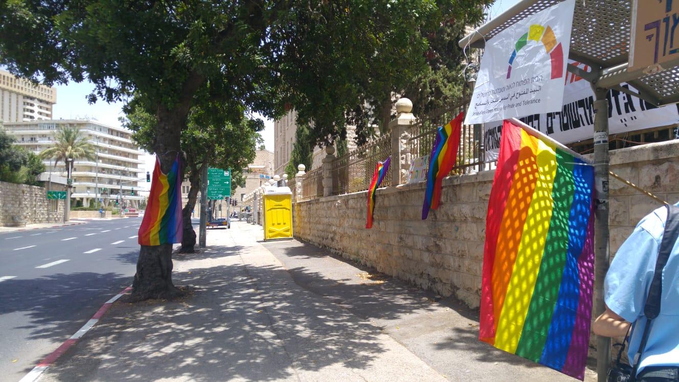 סמוך לבית ראש הממשלה - מאהל הבית הפתוח (צילום: הבית הפתוח)