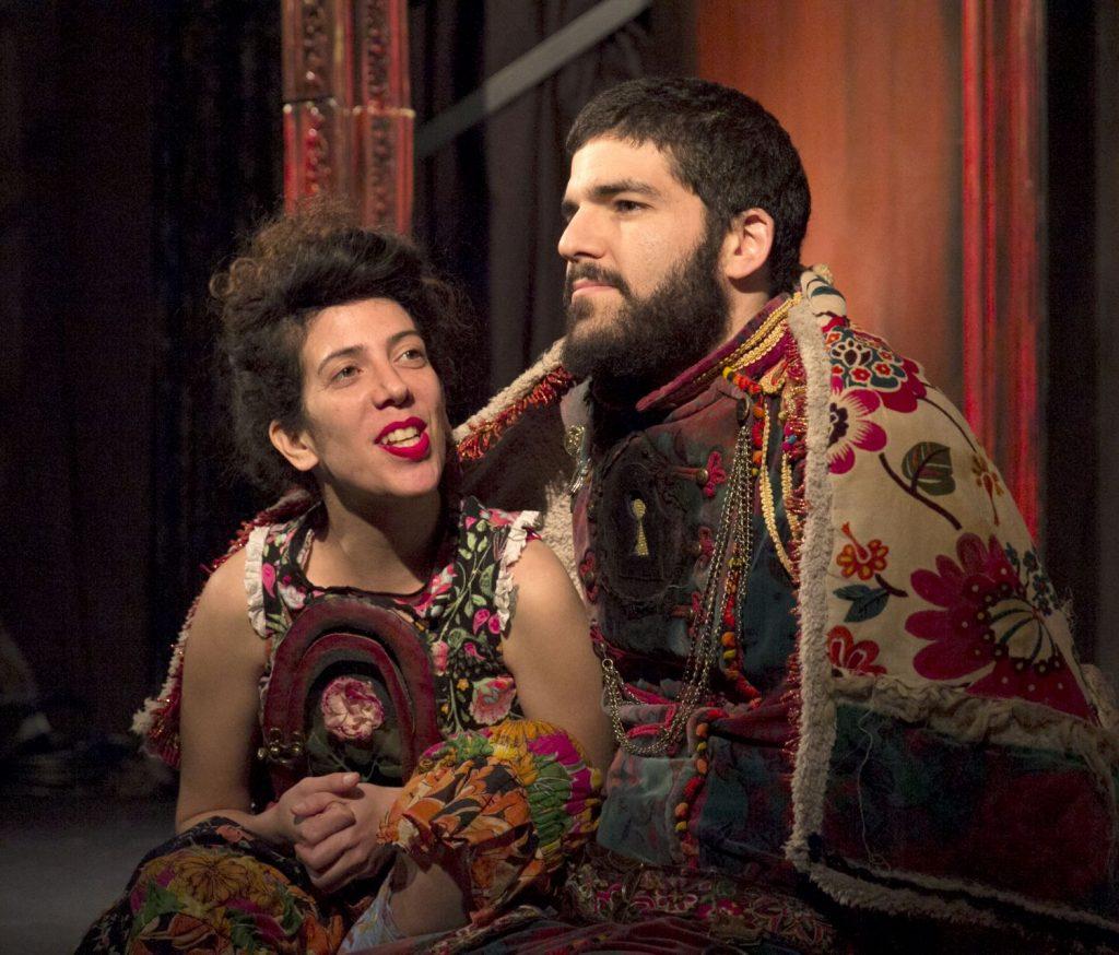 דוד ובת שבע (צילום: דנה בר סימן טוב)