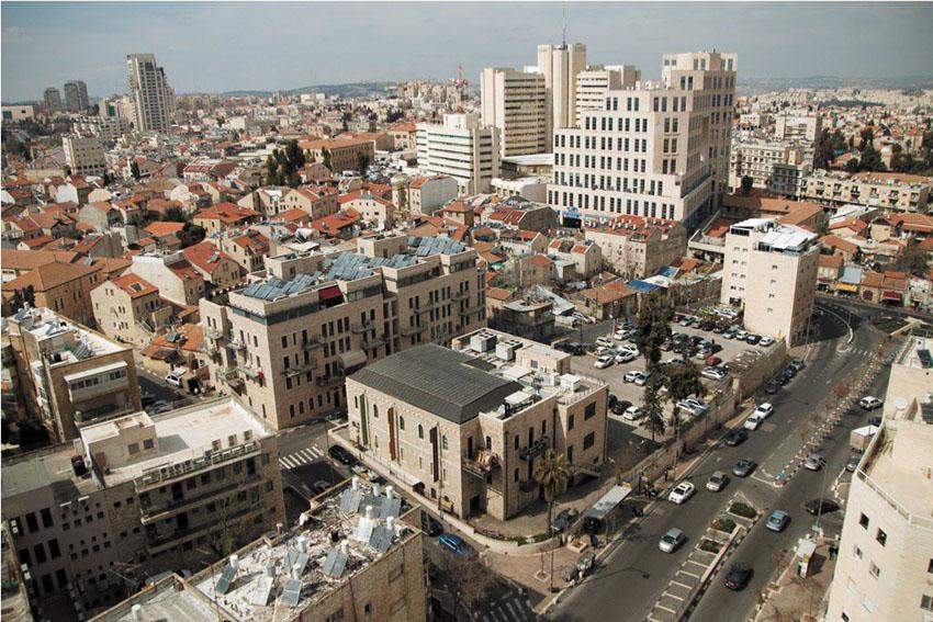 מרכז העיר ירושלים (צילום: סיוון גיל)