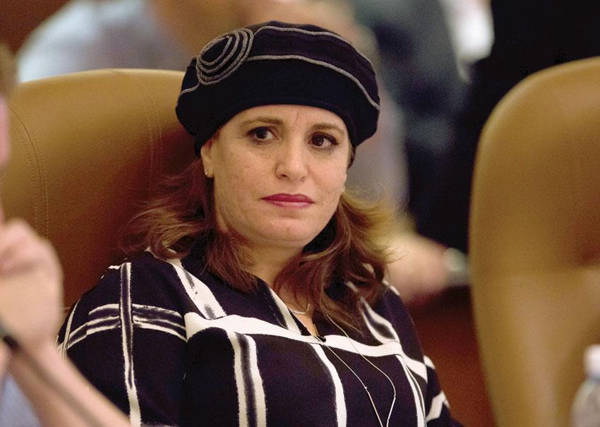 חגית משה סגנית ראש העיר (צילום: אמיל סלמן)