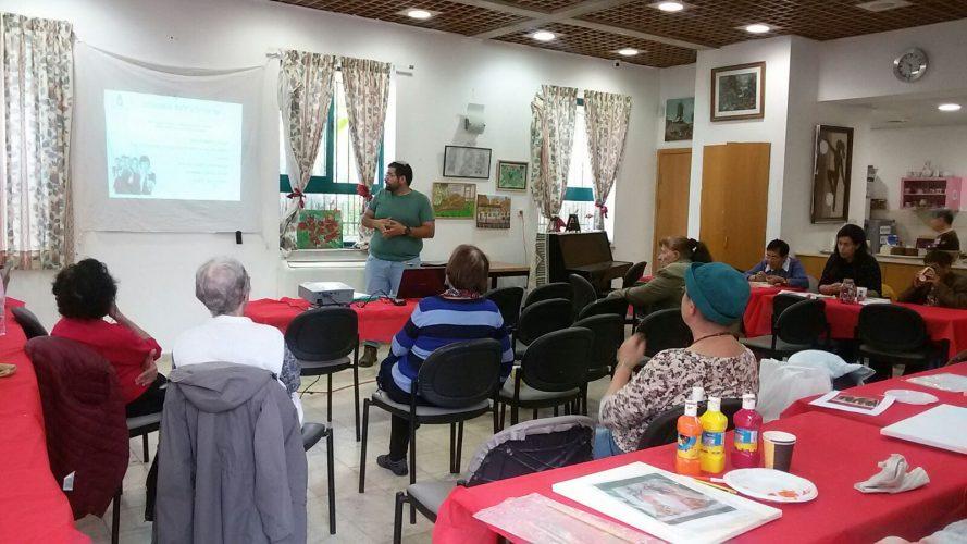 הרצאות בנושא צרכנות (צילום: דוברות עיריית ירושלים)