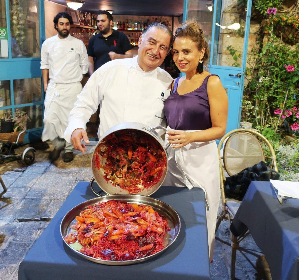 טקס המקלובה במסעדת אקליפטוס (צילום: פרטי)