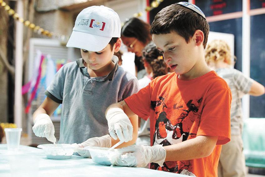פעילויות הקיץ במוזיאון (צילום: עודד אנטמן)