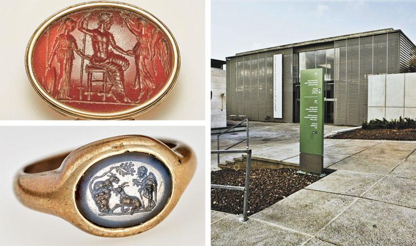 """מוזיאון ישראל, מתוך התערוכה """"פרויד שר הטבעות"""" (צילומים: תומר אפלבאום, Ardon Bar-Hama)"""