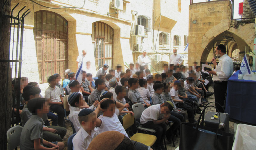 בית הספר אחינעם (צילום: אריה אורנג')