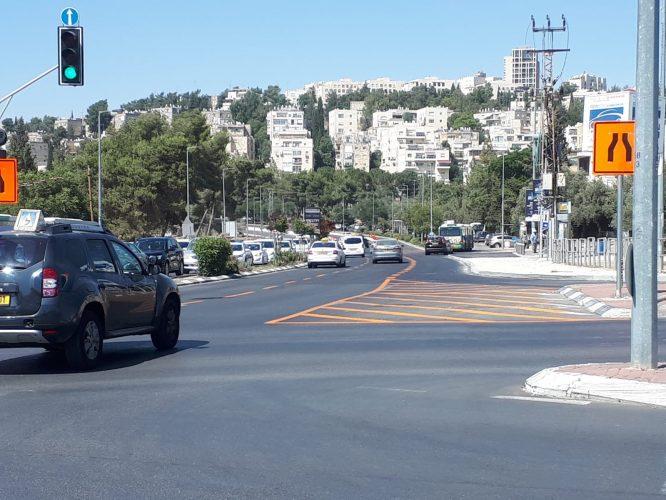 רחוב הרצוג, מכיוון צומת פת (צילום: פרטי)
