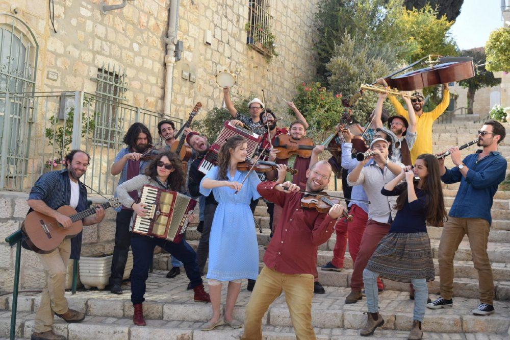 תזמורת הכלייזמר הישראלית (צילום: דן שנקר)
