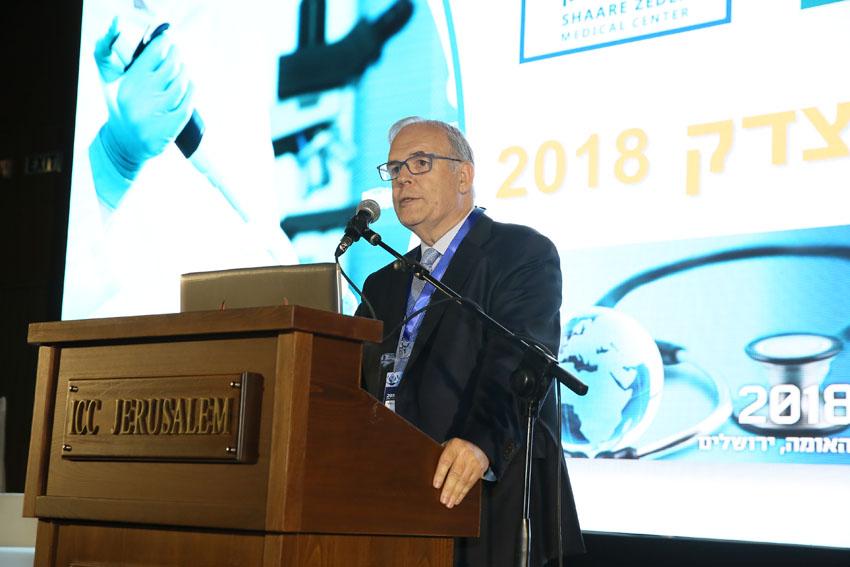 ועידת ישראל לרפואה 2018, פרופ' יונתן הלוי (צילום: ארנון בוסאני)