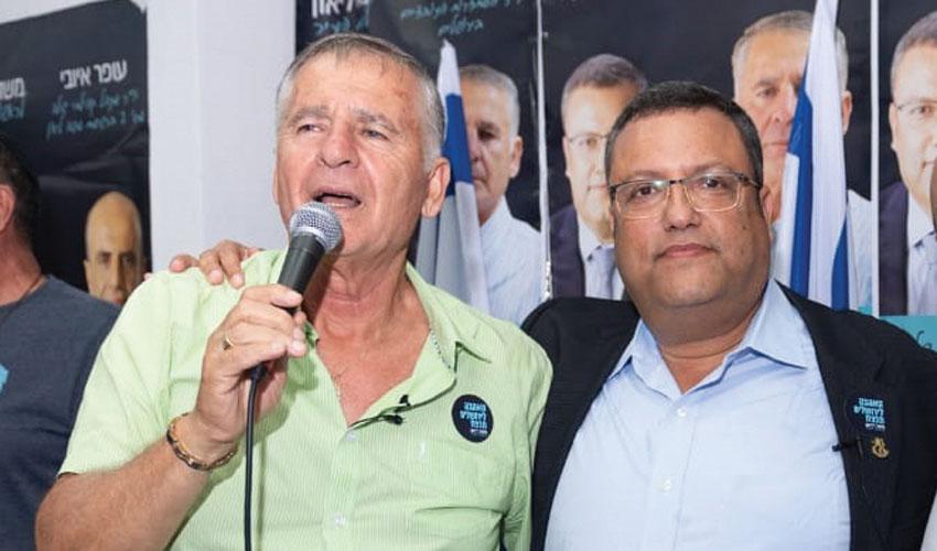 משה ליאון ודני בונפיל (צילום: מאיר כהן)