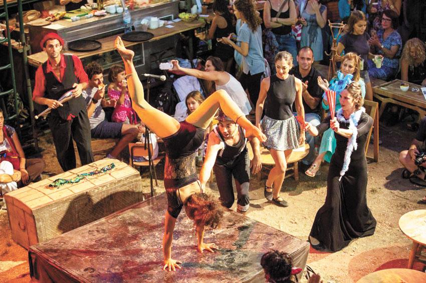 """פסטיבל חוצות היוצר בשנה שעברה (צילום: יח""""צ)"""