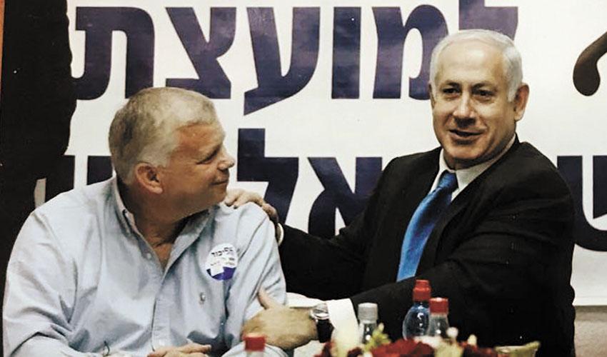 ראש הממשלה בנימין נתניהו ואלישע פלג