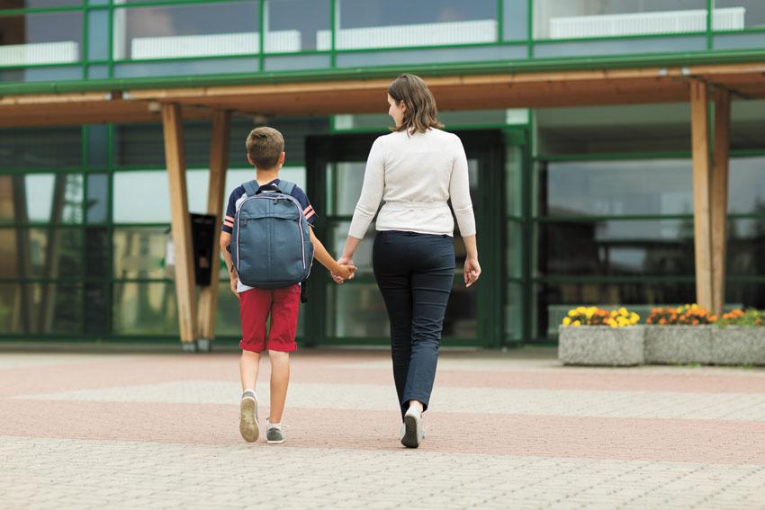 בדרך לבית הספר (צילום אילוסטרציה: א.ס.א.פ קריאייטיב/INGIMAGE)