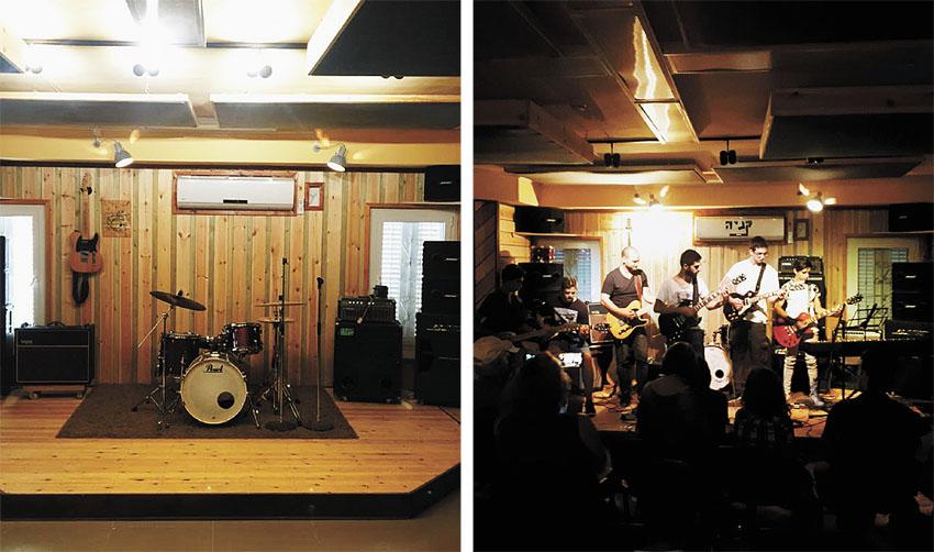 מרכז המוזיקה 'קניה 4 בגבעה הצרפתית' (צילומים: דולב סולומון)