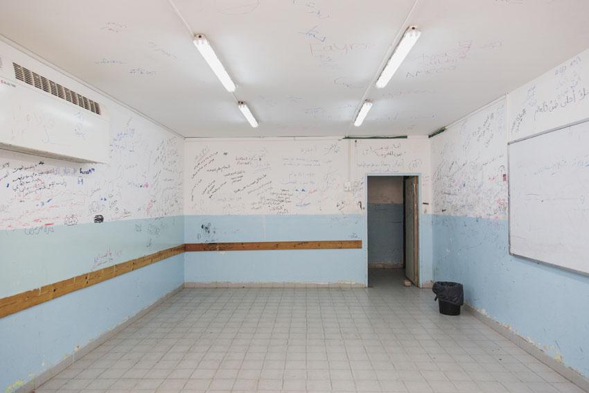 השיפוצים במוסדות החינוך ברחבי העיר (צילום: שירן גרנות)