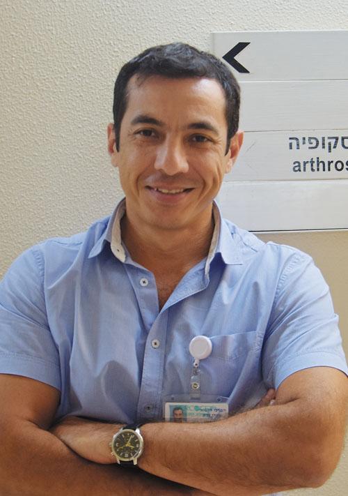 """ד""""ר אייבק שריפוב (צילום: דוברות שערי צדק)"""