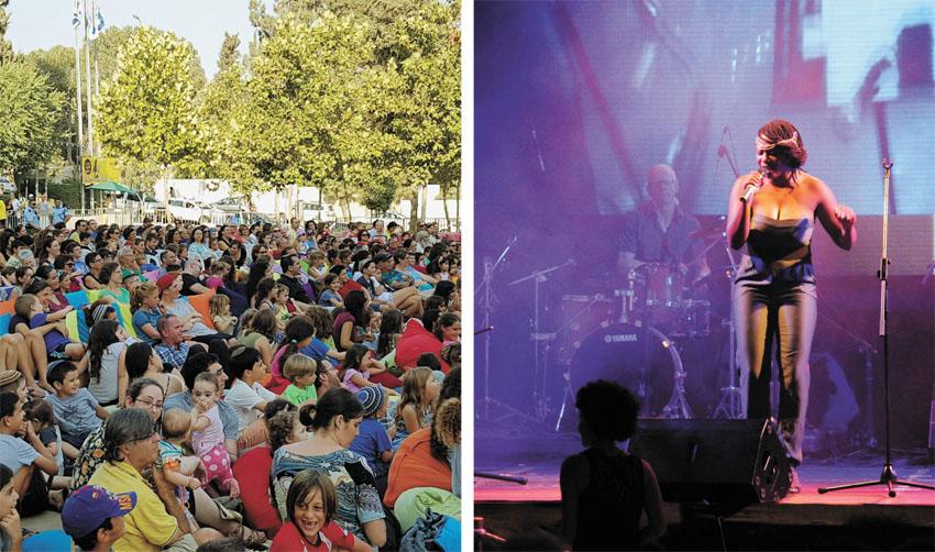 פסטיבל סוף הקיץ בתיאטרון בשנה שעברה (צילומים: נגה ארד איילון)