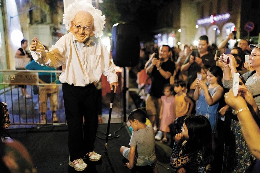 פסטיבל שכונה עם יד2 LIVE בשנה שעברה (צילום: באדיבות מינהל קהילתי גינות העיר)