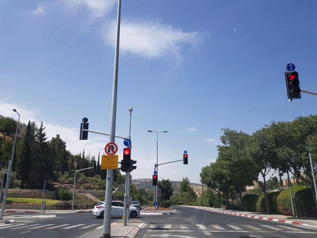 צומת גולומב-רמת שרת-מלחה (צילום: חברת מוריה)