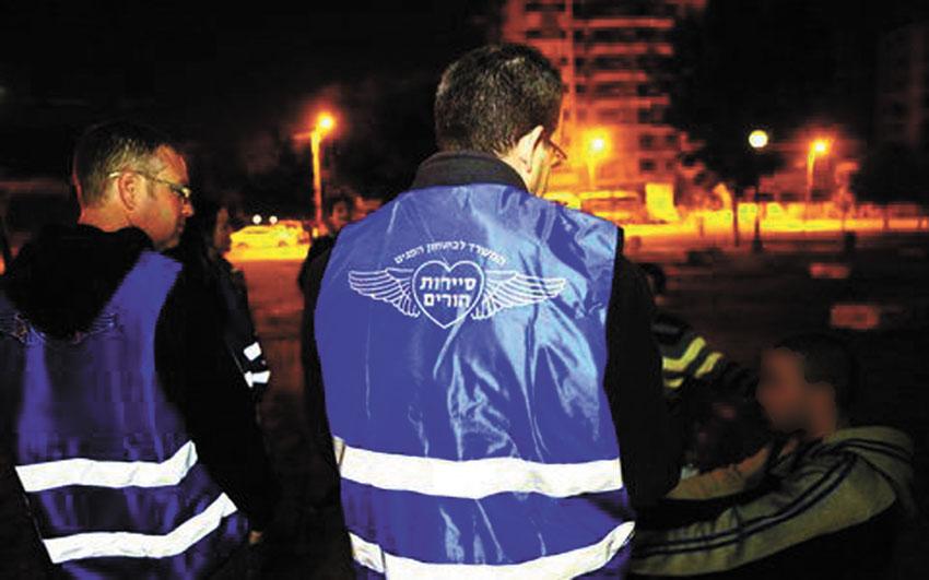 סיירת ההורים הירושלמית (צילום: האיגוד הירושלמי למאבק בסמים ובאלכוהול)