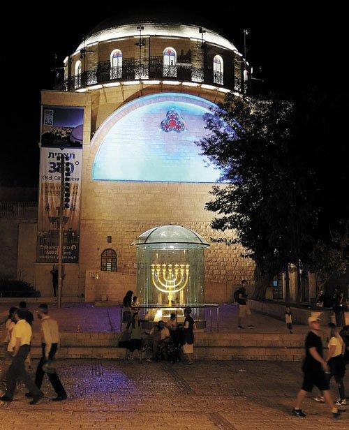 בית הכנסת החורבה (צילום: טל מרום)