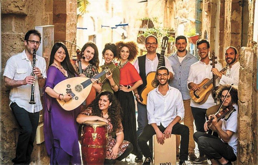 תזמורת הלאדינו הישראלית (צילום: דור לובטון)