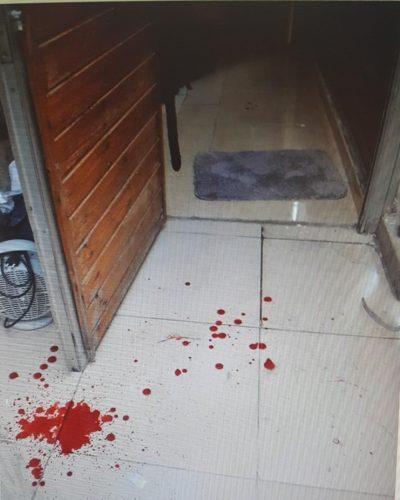 סמוך למקום שבו הותקפה החיילת בנחלאות (צילום: דוברות המשטרה)