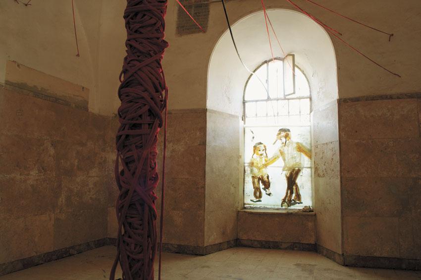 מתוך התערוכה 'עץ, צומח, דומם' (צילום: סטודיו משלך)