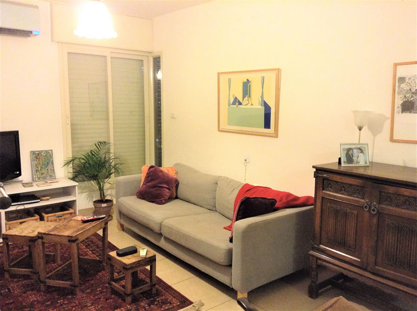 הדירה ברחוב אלקחי, ארמון הנציב (צילום: לין ליפשיץ)