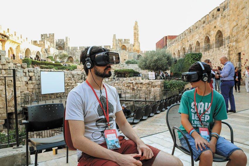 פעילות סוכות במוזיאון מגדל דוד (צילום: Ricky Rachman)